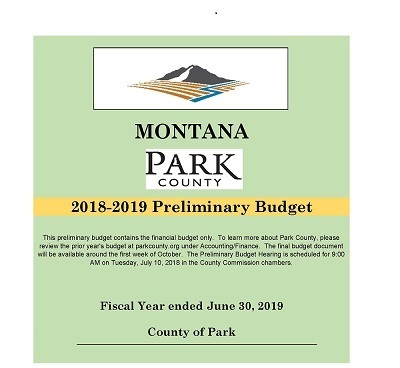 FY2019 Preliminary Budget