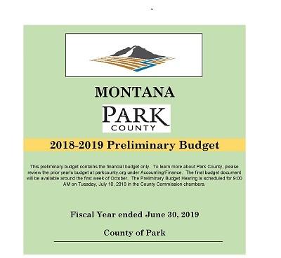 FY 2019 Preliminary Budget