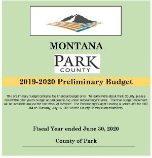 Park County Montana | Accounting / Finance
