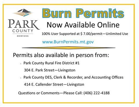 Burn Permits Now Available Online