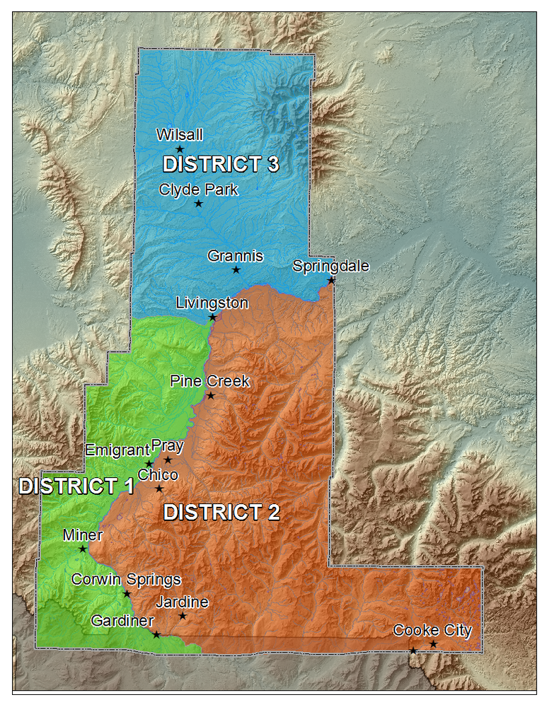 Park County Voter Districts