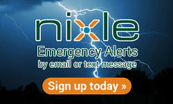 Nixle Emergency Alert Sign up Picture Link