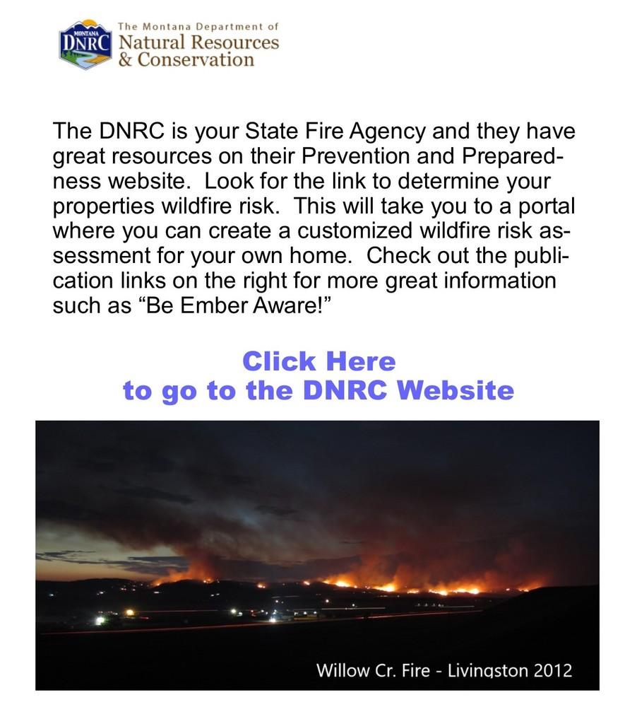 DNRC Link to preparedness info