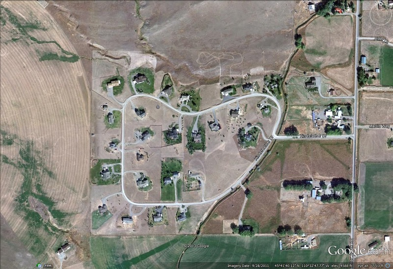 Sleeping Giant Subdivision