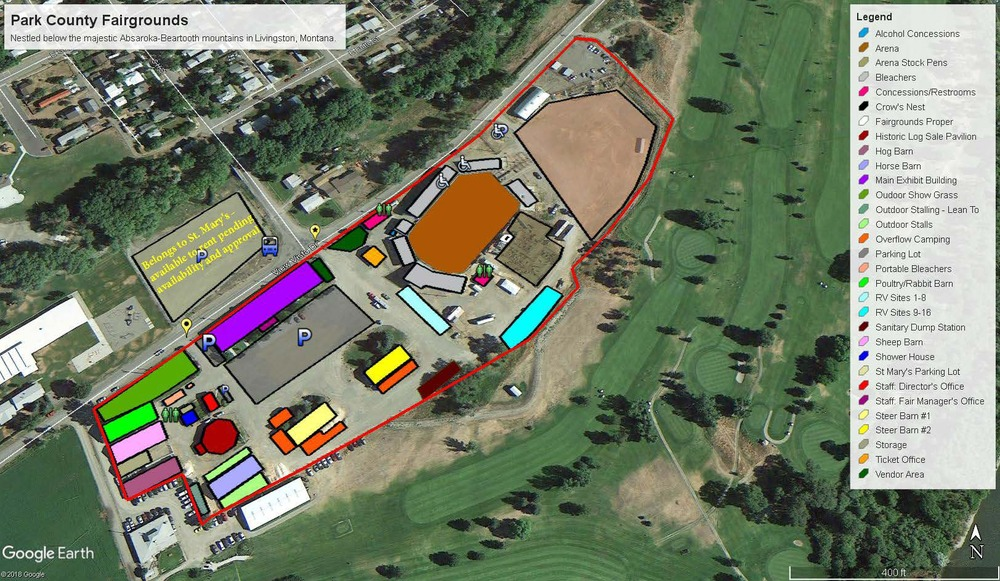 Fairgrounds Map